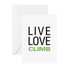 Live Love Climb Greeting Cards (Pk of 20)