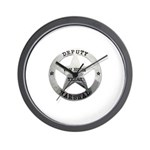 Van Horn Marshal Wall Clock