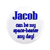 "Space Heater! 3.5"" Button"