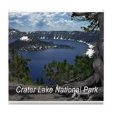 Crater lake national park Drink Coasters