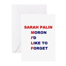 Sarah Palin is a MILF Greeting Cards (Pk of 20)