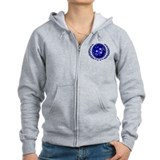 UFP Seal Blue Zip Hoodie