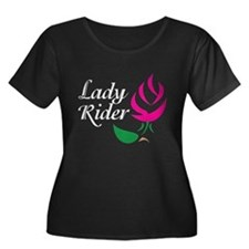 Hot Pink Rosebud Lady Rider T
