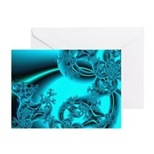 """Daybreak"" Fractal Art Greeting Cards (Package of"