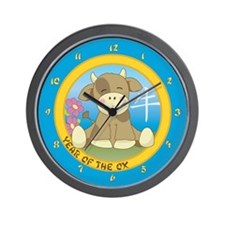 Year of the Ox Wall Clock