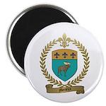 MENEUX Family Crest Magnet