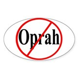 Anti Obama Oval Decal