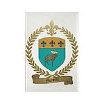 MENEUX Family Crest Rectangle Magnet (10 pack)