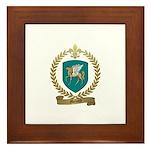 MENARD Family Crest Framed Tile