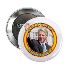 "Bill Clinton Superstar 2.25"" Button (10 pack)"