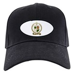 MELANCON Family Crest Black Cap