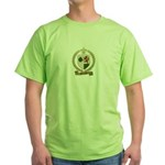 MELANCON Family Crest Green T-Shirt