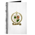 MELANCON Family Crest Journal