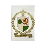 MELANCON Family Crest Rectangle Magnet (100 pack)