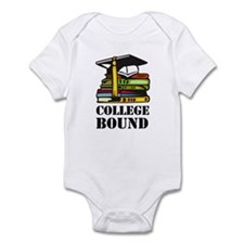 College Bound Infant Onesie Tinky