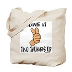 TWO THUMBS UP Tote Bag