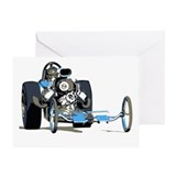 Vintage Top Fuel 1 Greeting Card