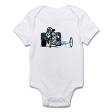 Vintage Top Fuel 1 Infant Bodysuit