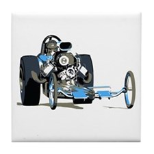 Vintage Top Fuel 1 Tile Coaster