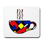 MONDRIAN COFFEE Mousepad