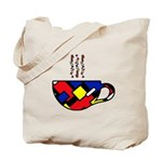 MONDRIAN COFFEE Tote Bag