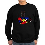 MONDRIAN COFFEE Sweatshirt (dark)