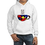 MONDRIAN COFFEE Hooded Sweatshirt