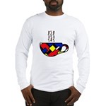 MONDRIAN COFFEE Long Sleeve T-Shirt