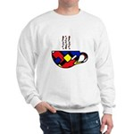 MONDRIAN COFFEE Sweatshirt