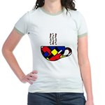 MONDRIAN COFFEE Jr. Ringer T-Shirt