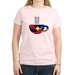 MONDRIAN COFFEE Women's Light T-Shirt