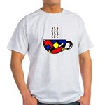 MONDRIAN COFFEE Light T-Shirt