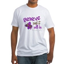 Believe 1 Butterfly 2 PURPLE Shirt