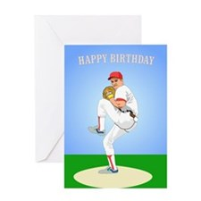 Baseball, Guy's 'Perfect' - Birthday Card