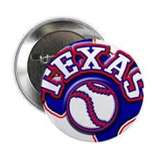 "Texas Baseball 2.25"" Button (10 pack)"