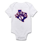 Texas Baseball Infant Bodysuit