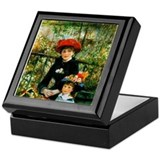 Renoir Two Sisters Keepsake Box
