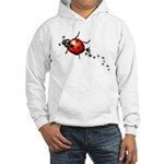 Ladybug Rock Star Hooded Sweatshirt
