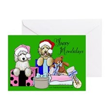 TBG Green Christmas Greeting Cards (Pk of 20)