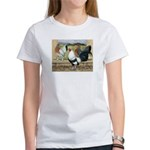 Duckwing Bantam Chickens Women's T-Shirt
