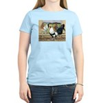 Duckwing Bantam Chickens Women's Light T-Shirt