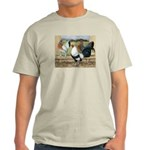 Duckwing Bantam Chickens Light T-Shirt