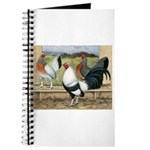 Duckwing Bantam Chickens Journal
