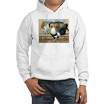 Duckwing Bantam Chickens Hooded Sweatshirt
