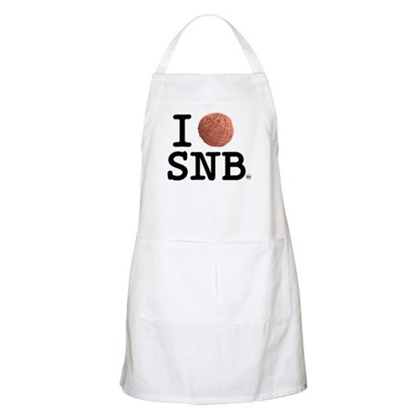 I (Yarn) Stitch 'n Bitch BBQ Apron