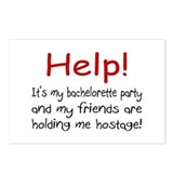 Help! My Bachelor Party...Being Held Hostage Postc