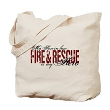Son-in-law My Hero - Fire & Rescue Tote Bag