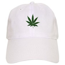 Marijuana Pot Leaf Baseball Cap