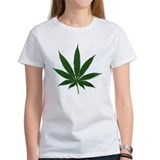 Marijuana Pot Leaf Tee