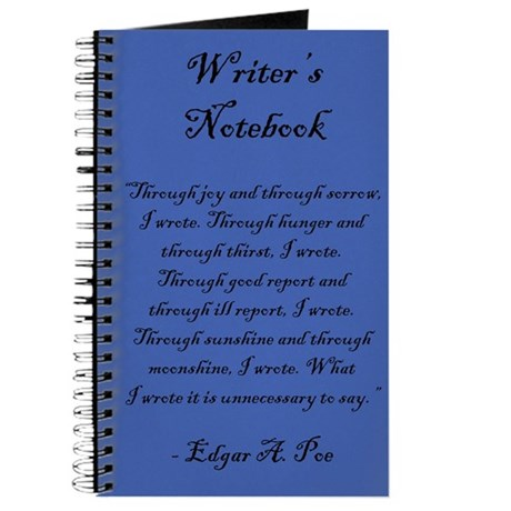 """Edgar A. Poe"" - Writer's Notebook"
